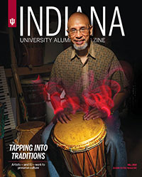 IU Alumni Magazine Fall 2019 Cover
