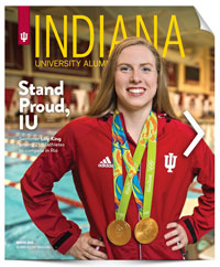 Indiana University Alumni Magazine Winter 2016 Cover