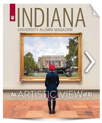 IU Alumni Magazine Winter 2017 Cover